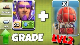 "NEW HERO FEATURE + LVL 2 SLAMMER! ""Clash Of Clans"" NEW UPDATE!"