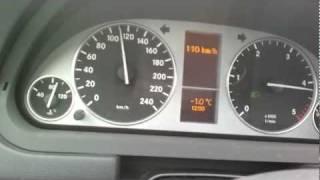 Mercedes Classe B 180CDI W245 0-100 - 200 Km/h