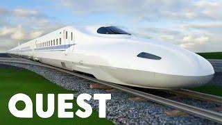 Japan's Tokaido Shinkansen Bullet Train | Mighty Trains