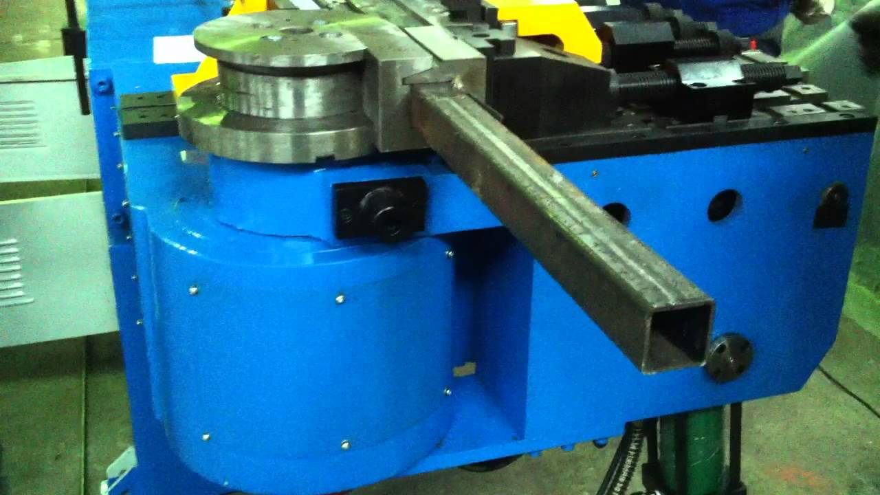Steelmaster Mandrel Tube Amp Pipe Bender With Square Tooling