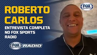 "NEYMAR NO REAL? FENÔMENO, GAÚCHO OU CR7? FLA COMO EXEMPLO? Roberto Carlos no ""Fox Sports Rádio"""
