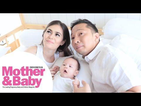 Behind The Scene: Pemotretan Ringgo dan Sabai Mother&Baby edisi Juni 2016