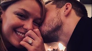 Melissa Benoist and Chris Wood Engaged