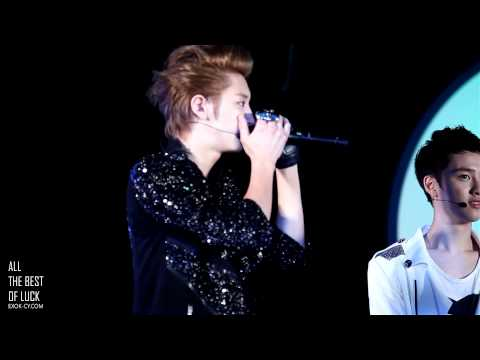 120530 EXO-K CHANYEOL Beatbox