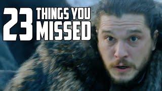 Game of Thrones Season 8 Premiere Easter Eggs