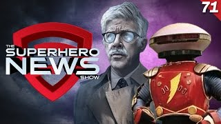 Superhero News #71: First Look at Commissioner Gordon in Justice League