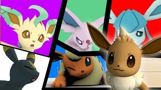 Eevee's new family - 3D animation