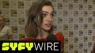 Stranger Things Season 2: Natalia Dyer Previews Nancy's Story | San Diego Comic-Con 2017 | SYFY WIRE