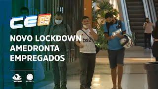 Novo lockdown amedronta empregados