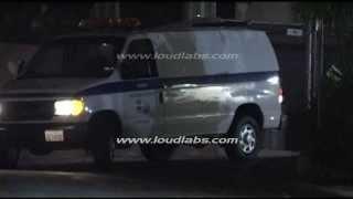 Paul Walker Hollywood Actor Dies - Body Arrival Los Angeles Coroner's Office -    RAW FOOTAGE