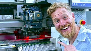 Inside a PCB Soldering Factory - in China