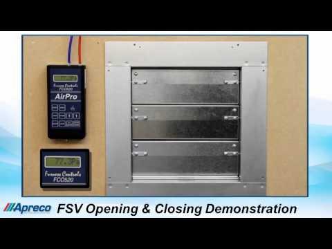 Apreco FSV Inert Gas Pressure Relief Vents