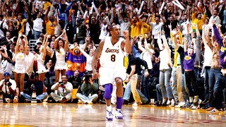 KOBE BRYANT HYPED PLAYS (LOUDEST CROWD REACTIONS)