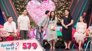 Wanna Date Ep 579: Forgetful girl makes Quyen Linh grimace at the gift she made