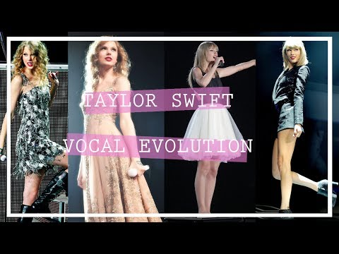 Taylor Swift | Vocal Evolution