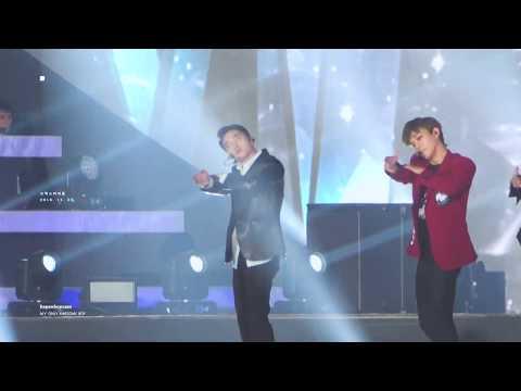 [4K] 181225 SBS 가요대전 - Love Shot (D.O. Focus)