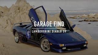 "The ""Garage Find"" missing Lamborghini Diablo SV Twin Turbo"