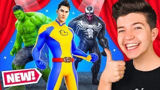I Hosted a Custom Superhero Fashion Show for Vbucks! (Fortnite)