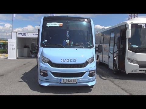 Iveco Daily Phoenix Bus (2016) Exterior and Interior in 3D
