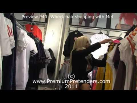 P29 - Mel as Wheelchair LAK amputee pretender   VideoMoviles com