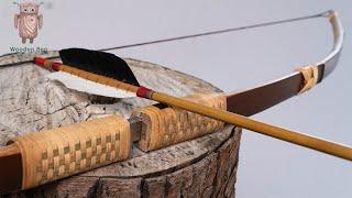 製作47磅的可拆卸竹弓 | 製弓 #064