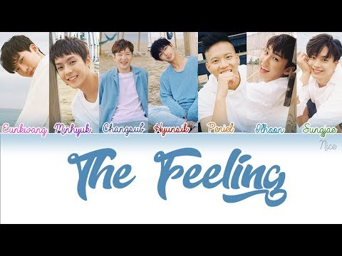 ‪BTOB (비투비) - THE FEELING Lyrics (Color Coded/ENG/ROM/HAN/PTBR) ‬