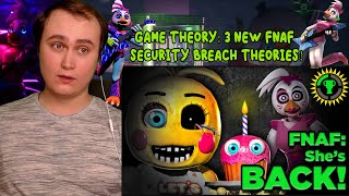 Game Theory: 3 NEW FNAF Security Breach Theories! | Reaction