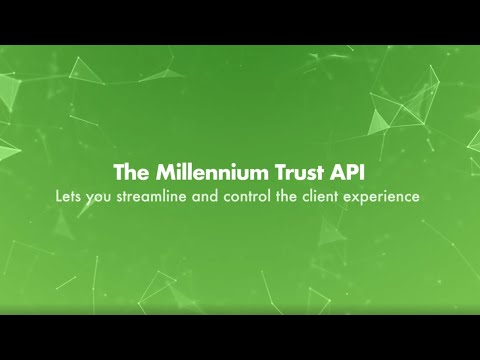 The Millennium Trust API enables sponsor platforms and advisor systems to allow investors to invest in their products with a Millennium Trust Self-Directed IRA.