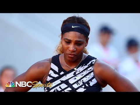 2019 French Open: Serena Williams discusses early exit, grueling season | NBC Sports