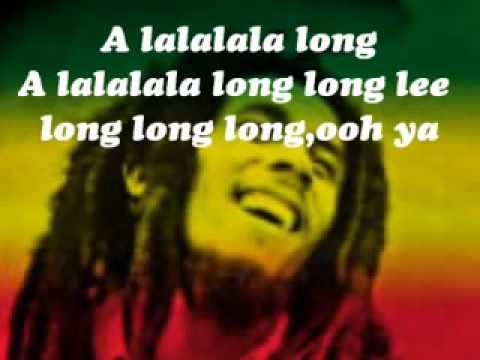 Alalalalong- Bob Marley lyrics