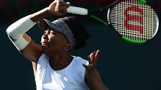 WTA R2 Highlights: Venus Williams Vs. Jelena Jankovic