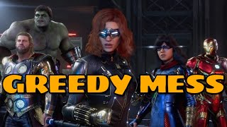 Marvel's Avengers Is A Mess Of Microtransactions And Battle Passes