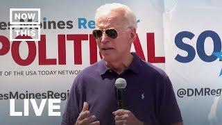 Joe Biden Speaks at Iowa State Fair | NowThis