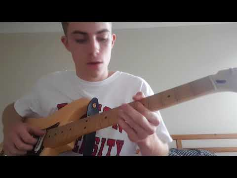 AFTER THE STORM -KALI UCHIS TYLER THE CREATOR GUITAR TUTORIAL