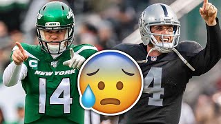 8 NFL Quarterbacks In SERIOUS DANGER Of Losing Their Jobs In 2020