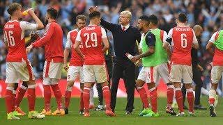 Dàn sao Arsenal khóc như mưa vì Wenger ra đi