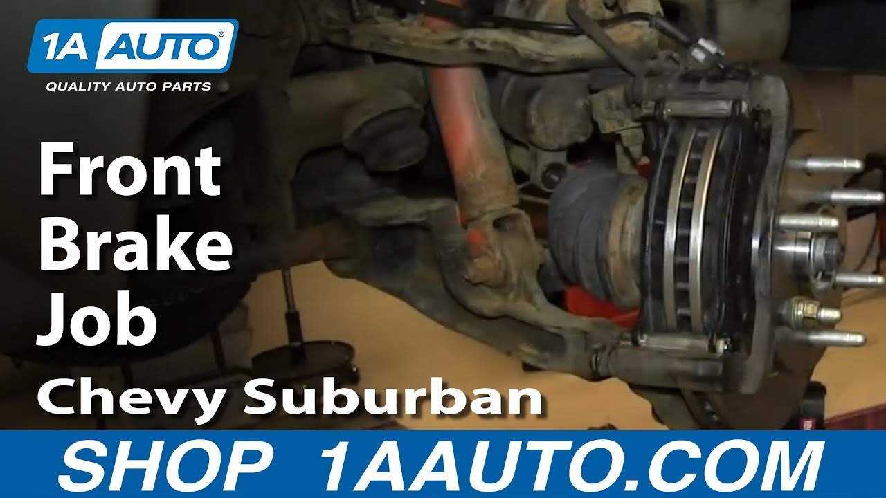 How To Do A Front Brake Job 2000 06 Chevy Suburban Gmc