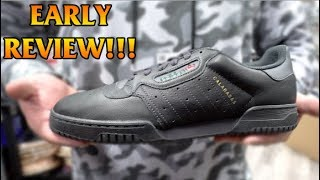 "ADIDAS YEEZY POWERPHASE CALABASAS ""BLACK"" REVIEW + ON FEET!!!"