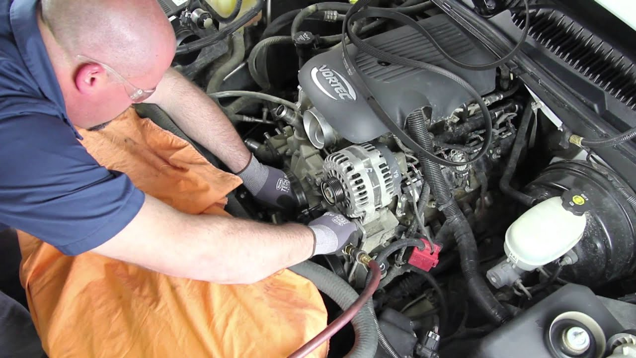 2004 Gmc Sierra 1500 >> How to Install a Water Pump: GM 5.3L V8 RWD WP-9409 AW5104 - YouTube