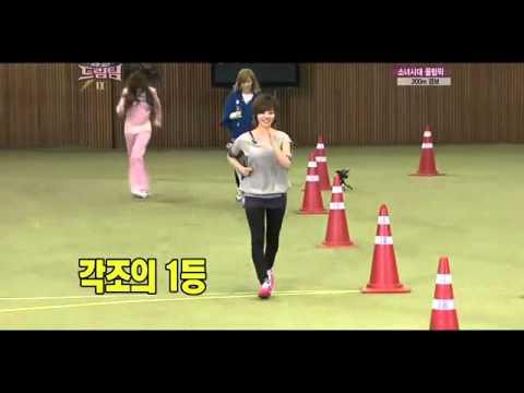 Dream Team TaeYeon, Jessica, Sunny Fast Walk Game