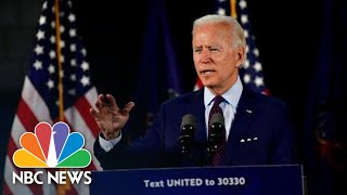Joe Biden Delivers Remarks On His 'Made In America' Plans | NBC News