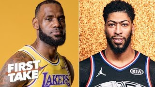 Which Laker is under more pressure: LeBron or Anthony Davis? | First Take