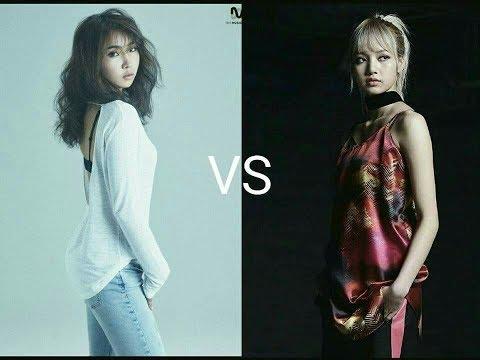 BLACKPINK Lisa vs 2NE1 Minzy (YG DANCE BATTLE)