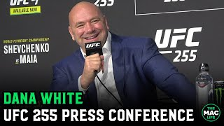 Dana White confirms Conor McGregor vs. Dustin Poirier is official; Talks Mike Tyson vs. Roy Jones Jr