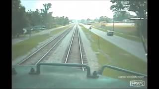 Train crash compilation #1