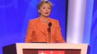 Hillary Clinton at the 2008 DNC