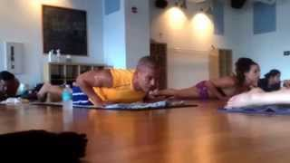 Izzy and Joy do Hot Yoga for Humiliation Pool