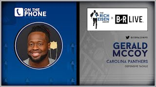 Panthers DT Gerald McCoy Talks McCaffrey, Panthers, & More w/Rich Eisen | Full Interview | 8/19/19