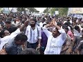 Grand Welcome to YS Jagan in Gudiwada : Praja Sankalpa Yatra
