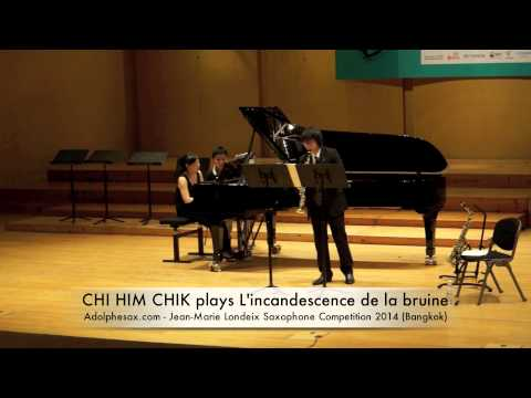 CHI HIM CHIK plays L'incandescence de la bruine by Bruno Mantovani